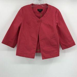 Talbots pink jacket
